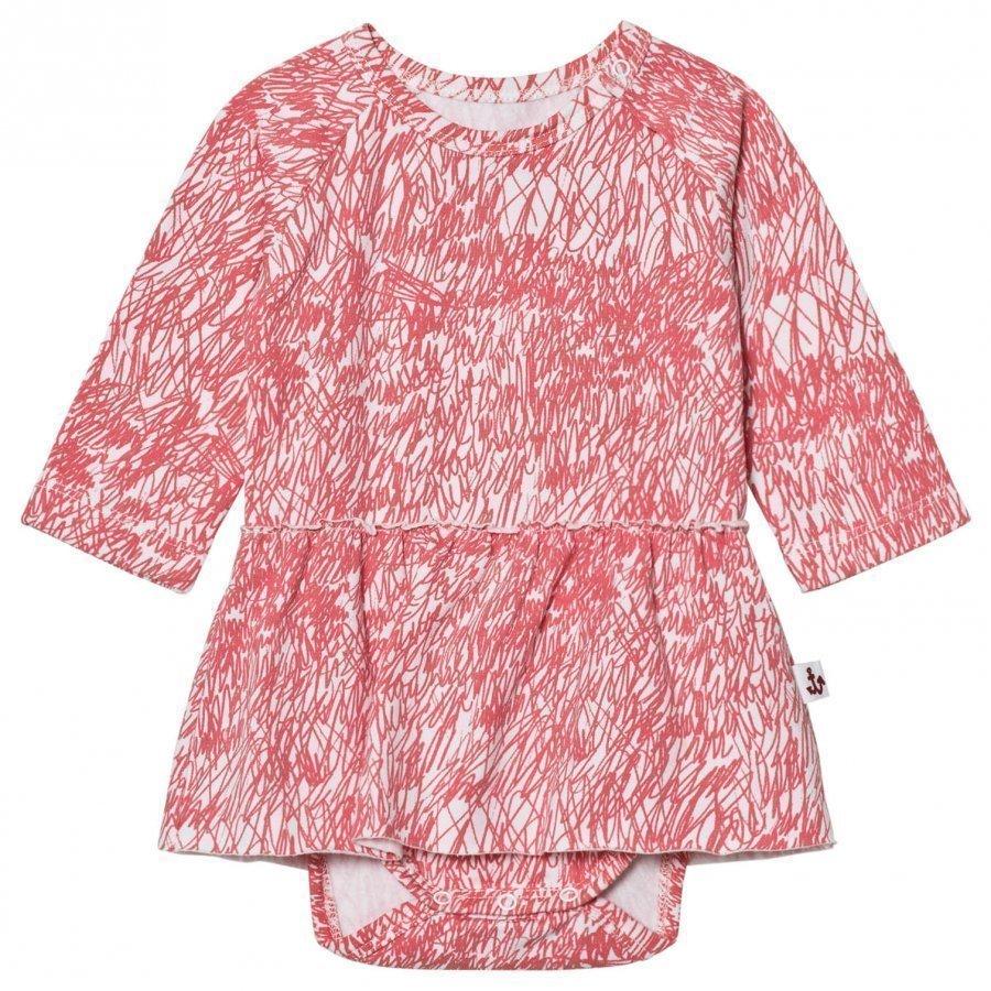 Noe & Zoe Berlin Pink Fur Dress Baby Body