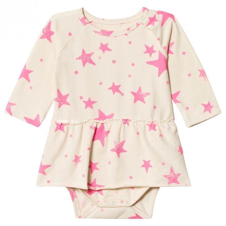 Noe & Zoe Berlin Pink Stars Baby Body