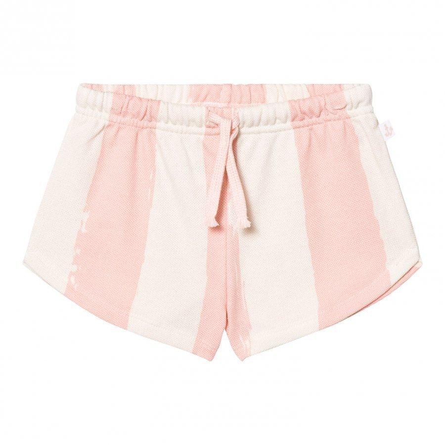Noe & Zoe Berlin Pink Stripe Shorts Juhlashortsit