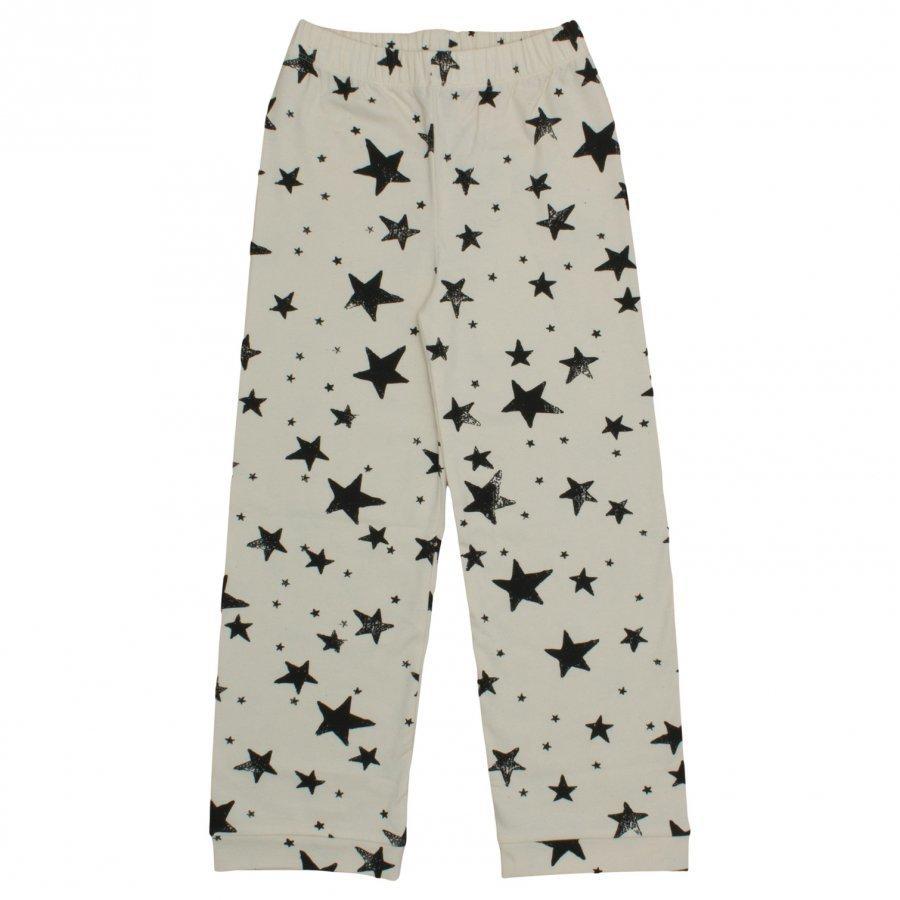 Noe & Zoe Berlin Pj Pants Black Stars Yöpuku