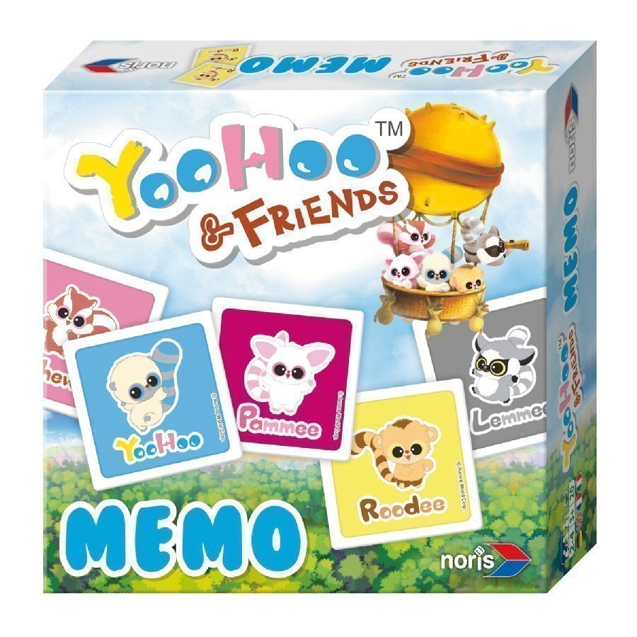 Noris Yoohoo & Friends Muistipeli