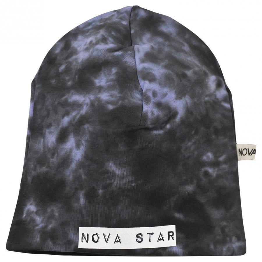 Nova Star Beanie Batik Purple Pipo