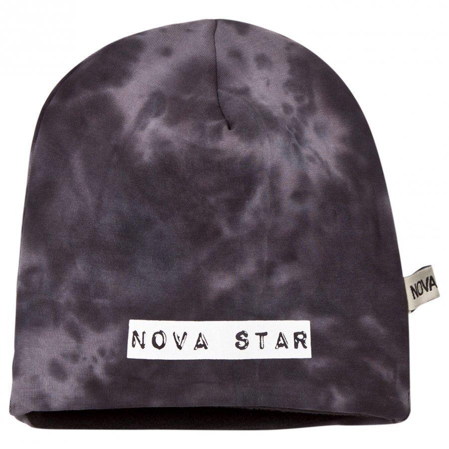 Nova Star Beanie Fleece Lined Grey/Black Pipo