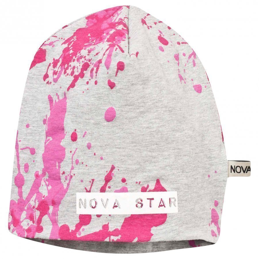 Nova Star Beanie Splash Pink Pipo