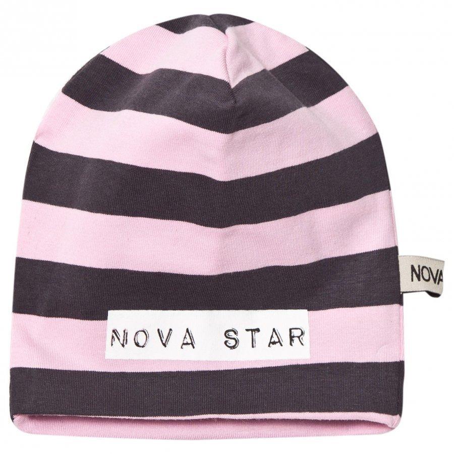 Nova Star Beanie Striped Pink Pipo