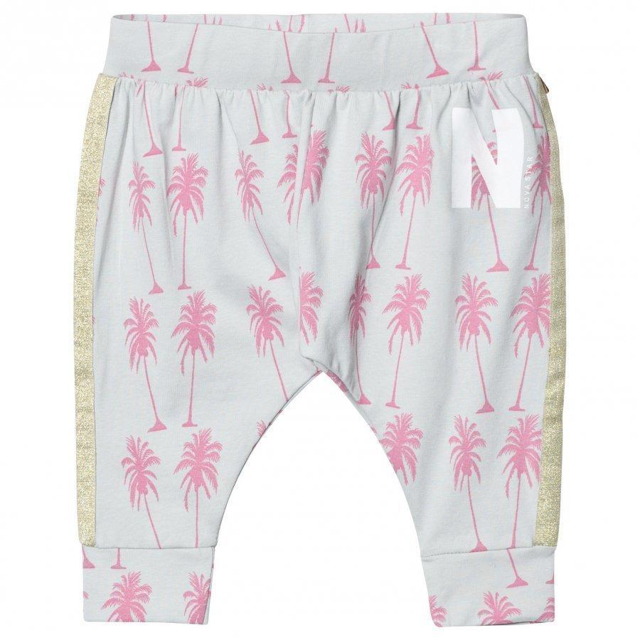 Nova Star City Trousers Palms Grey Housut
