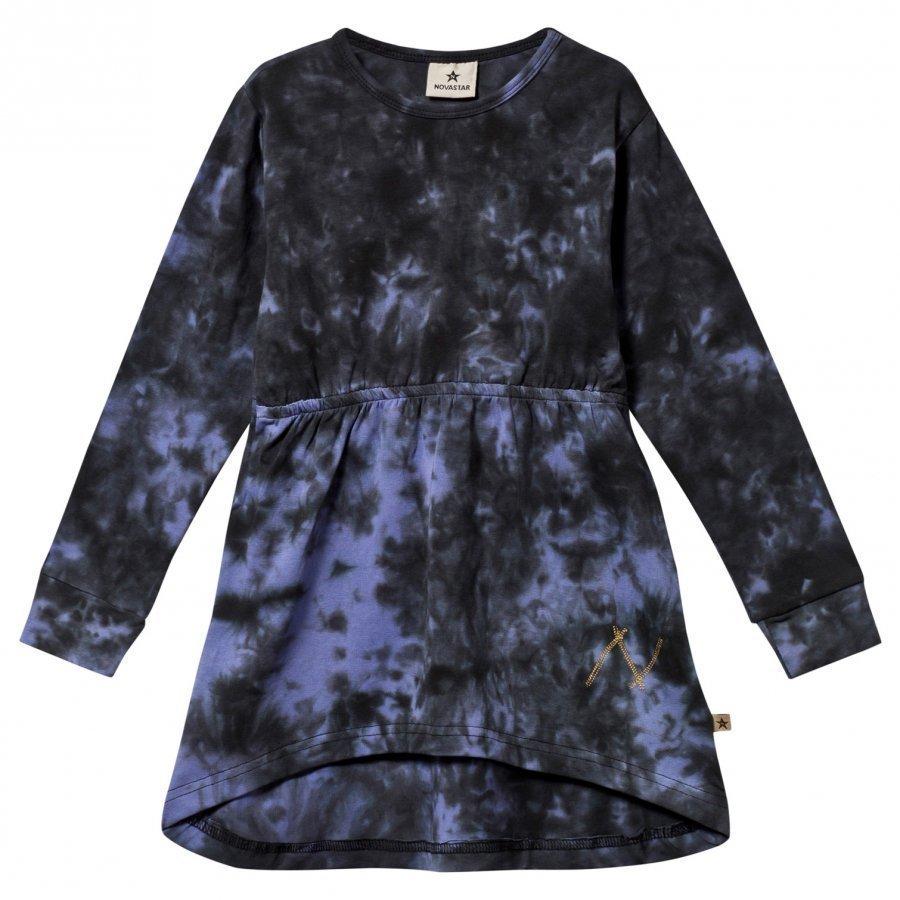 Nova Star Dress Batik Purple Mekko