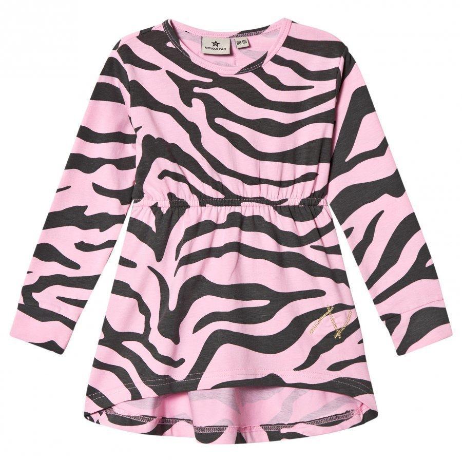 Nova Star Dress Zebra Pink Mekko