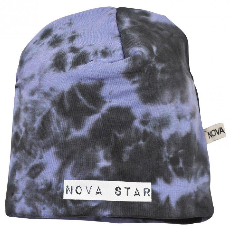 Nova Star Fleece Lined Beanie Batik Purple Pipo
