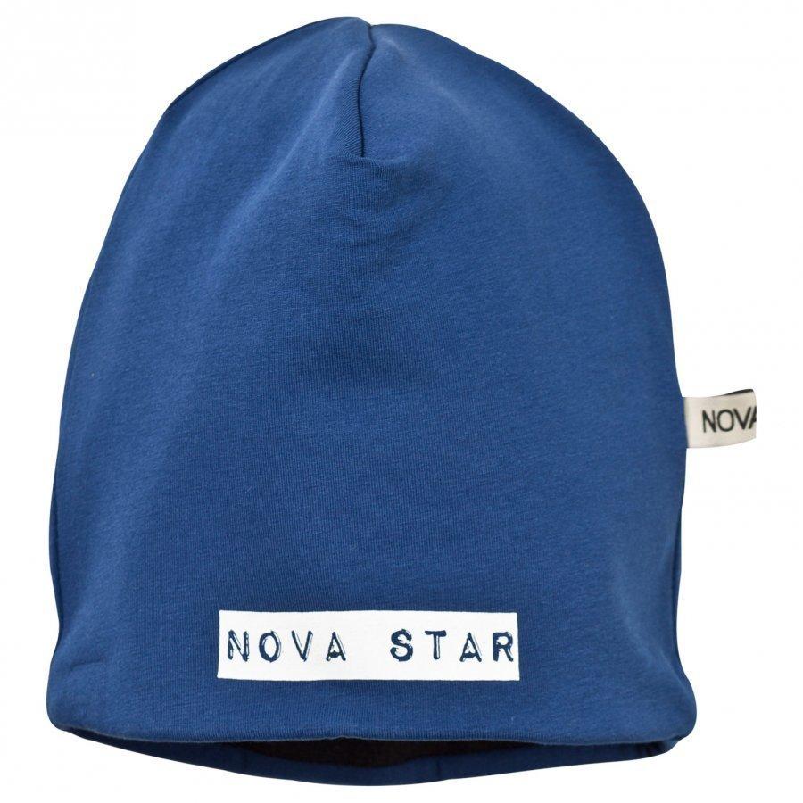 Nova Star Fleece Lined Beanie Marine Blue Pipo