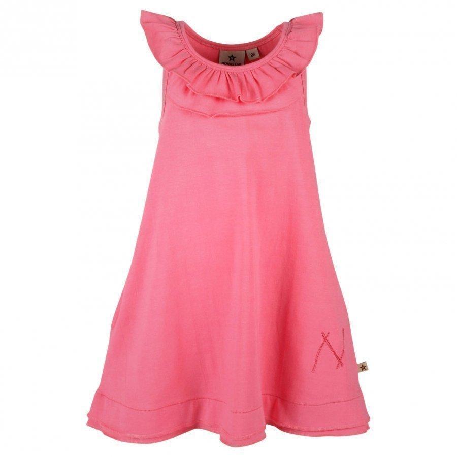 Nova Star Flounce Dress Pink Mekko