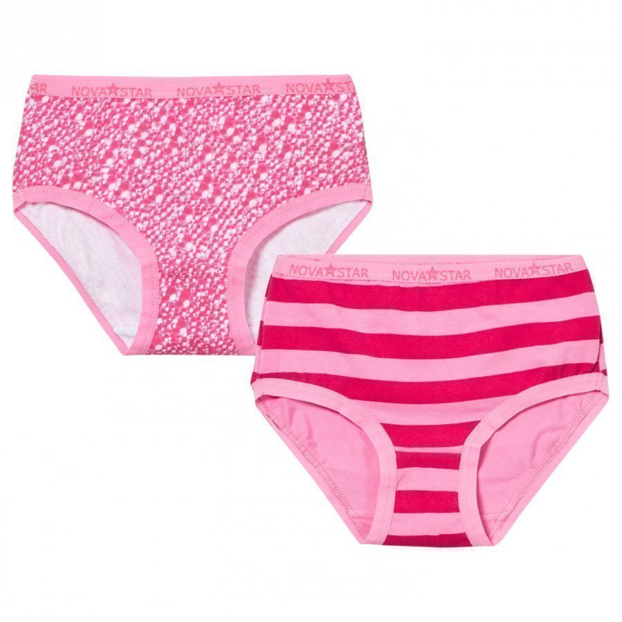 Nova Star Pink Girlie Briefs Alushousut