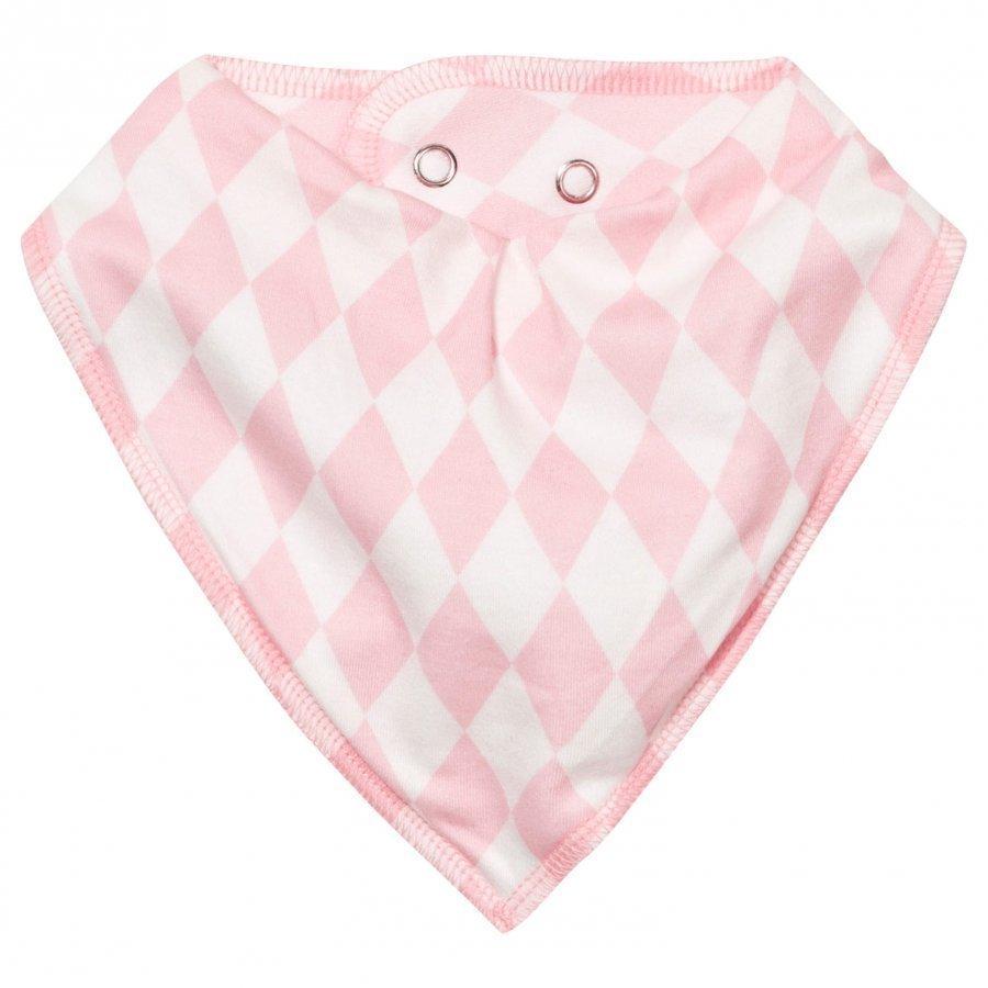 Nova Star Pink Square Dry Bib Ruokalappu