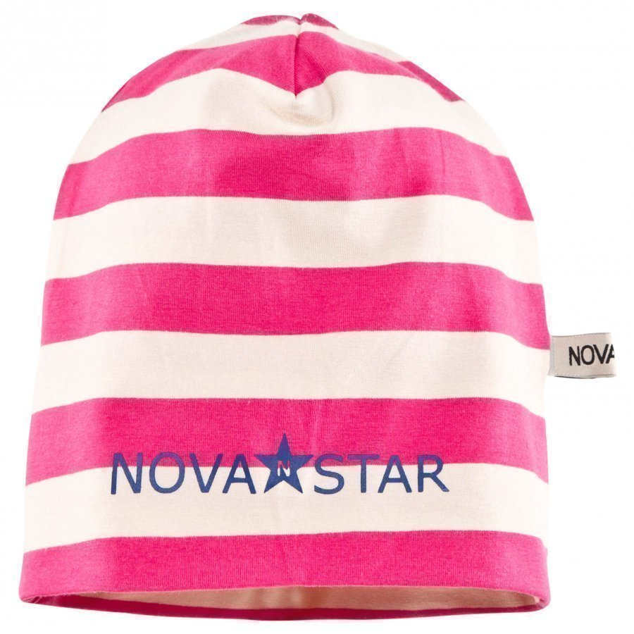 Nova Star Striped Beanie Wild Pink Pipo