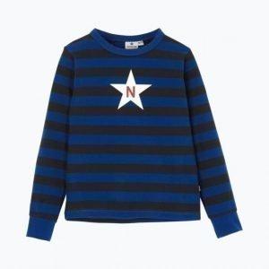 Nova Star Striped T Black Pusero