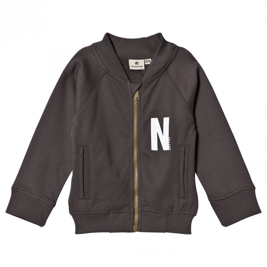 Nova Star Sweater Jacket Grey Oloasun Paita