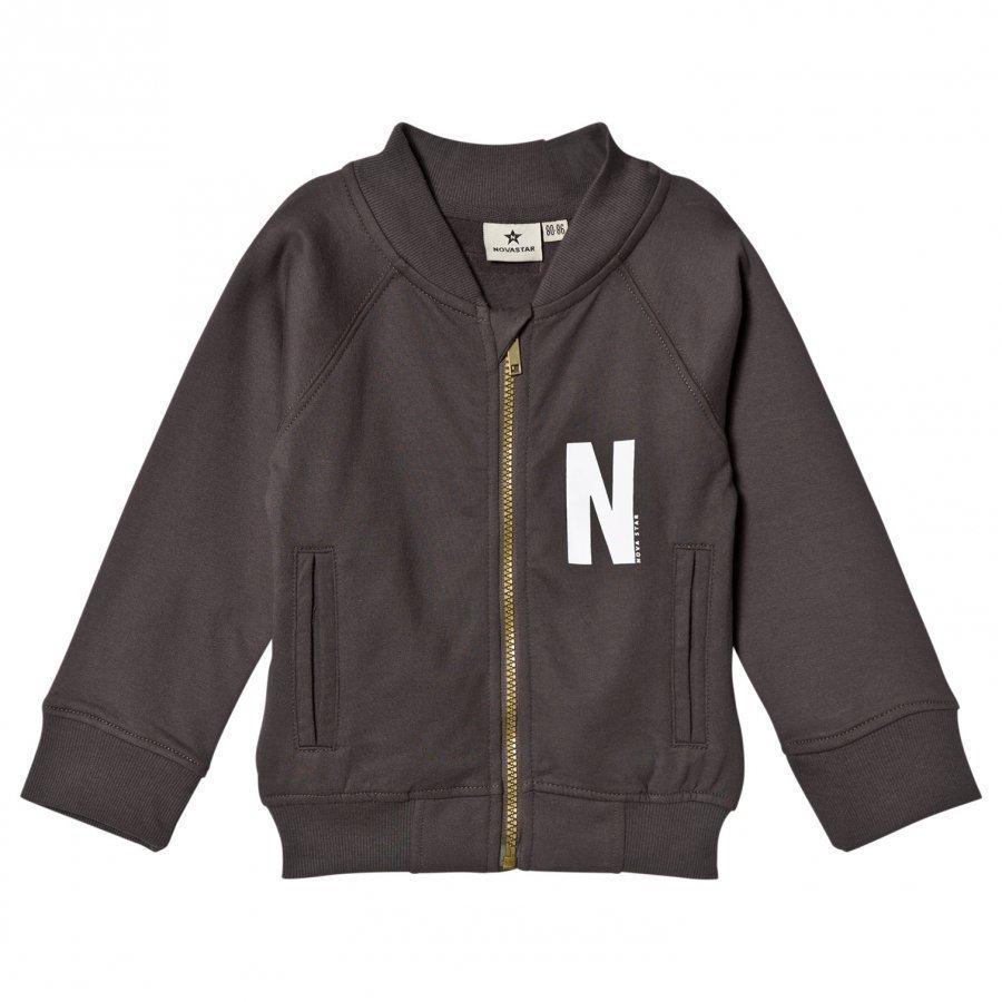 Nova Star Sweater Jacket Grey Oloasun Paita
