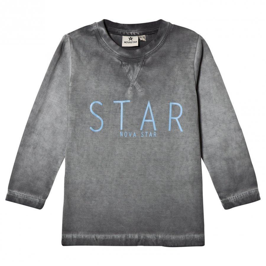 Nova Star T Star Grey Ls Pitkähihainen T-Paita