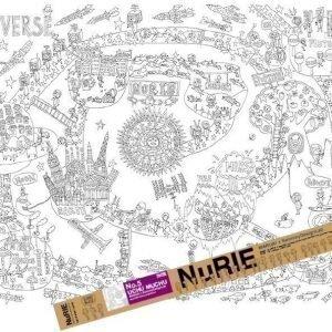NuRIE Poster Väritä Universumi