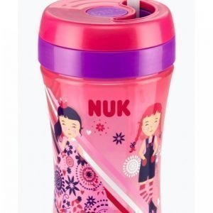 Nuk Easy Learning Cup Fun 300 Ml Muki Roosa