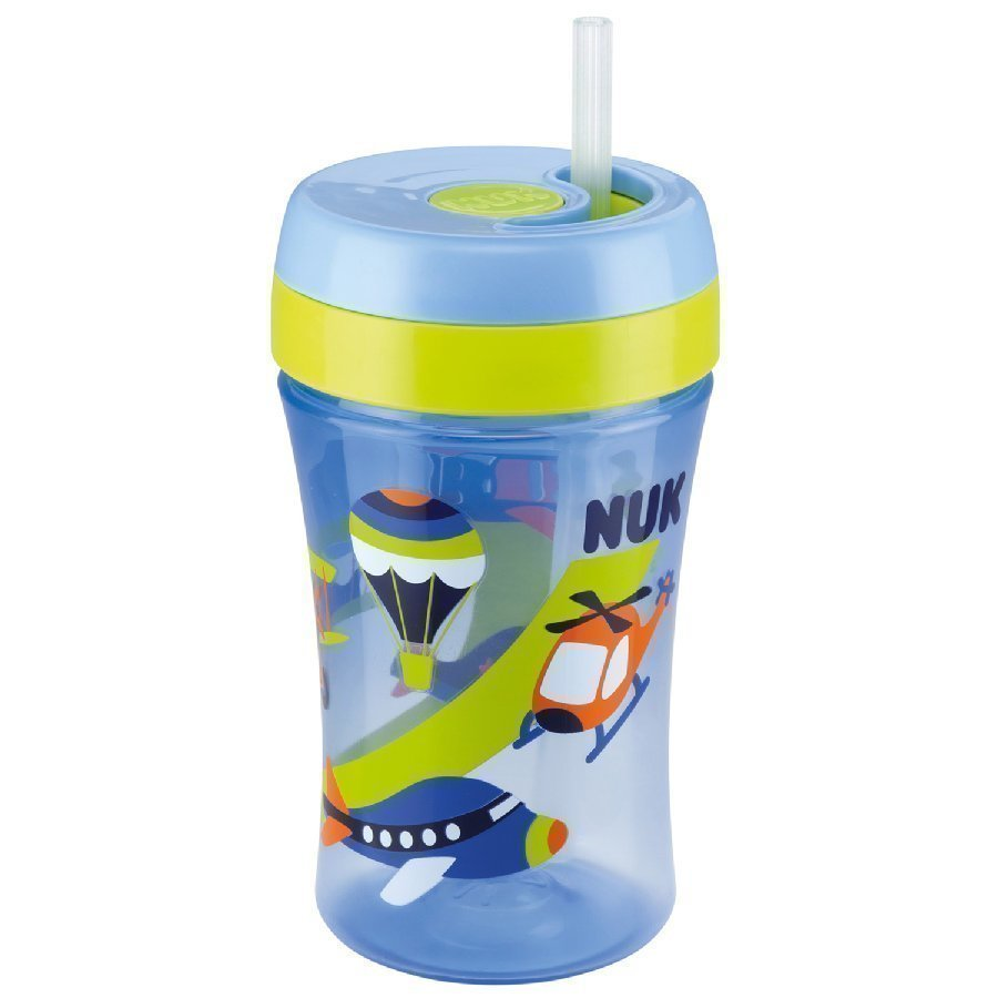Nuk Easy Learning Cup Fun Juomapullo 300 Ml Sininen