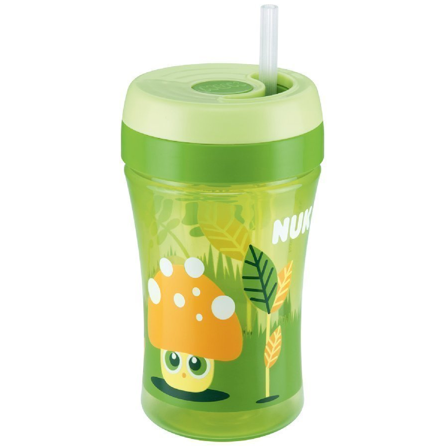 Nuk Easy Learning Cup Fun Juomapullo 300 Ml Vihreä