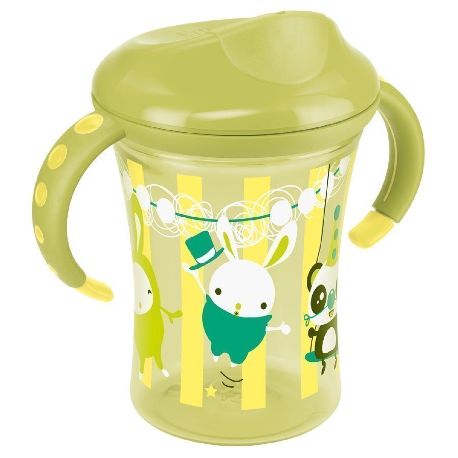 Nuk Easy Learning Trainer Cup Kova Nokkamuki 250ml Keltainen