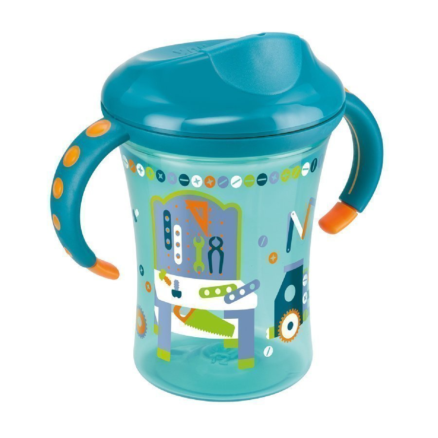 Nuk Easy Learning Trainer Cup Kova Nokkamuki 250ml Petrooli