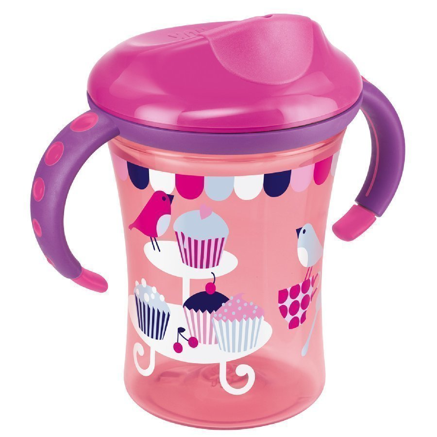 Nuk Easy Learning Trainer Cup Kova Nokkamuki 250ml Punainen