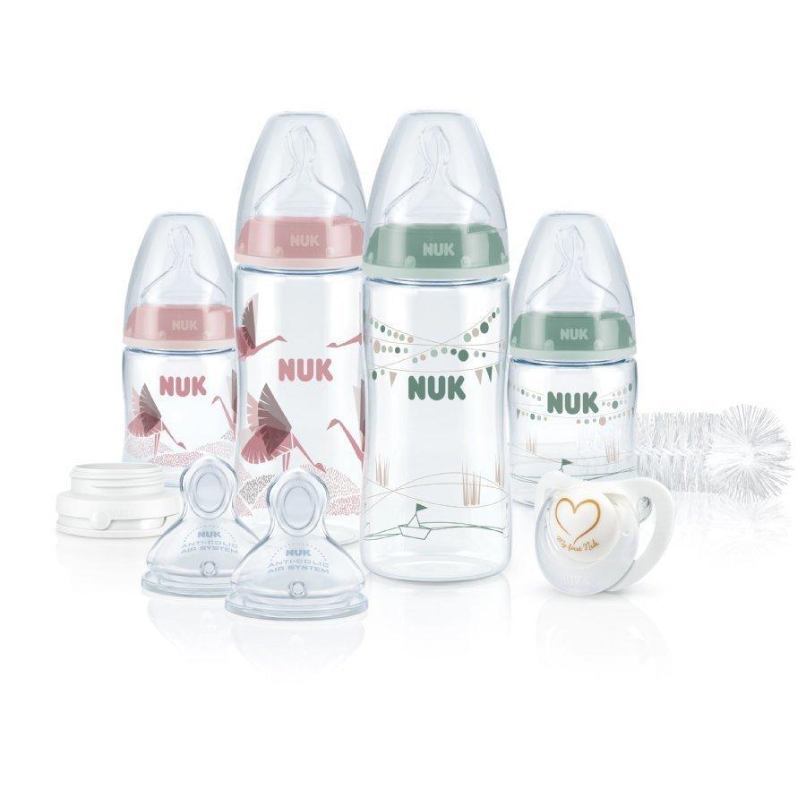 Nuk First Choice Plus Perfect Aloitussetti Vaaleanpunainen / Vihreä