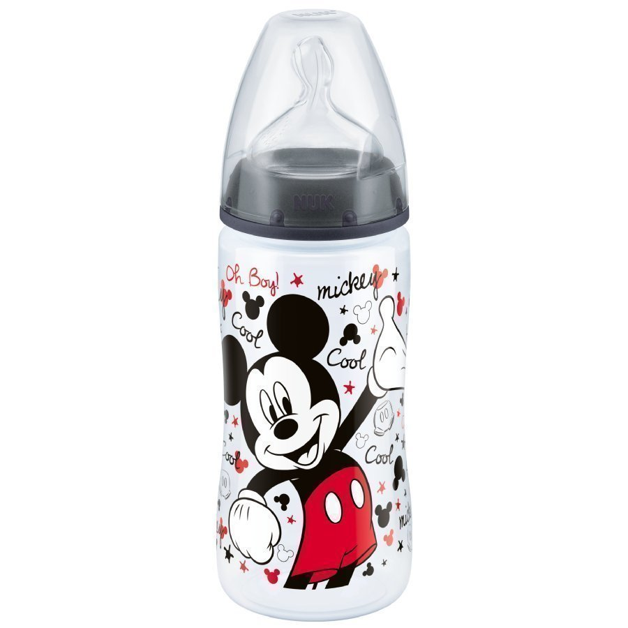 Nuk First Choice Plus Tuttipullo 300 Ml Disney Mikki Hiiri