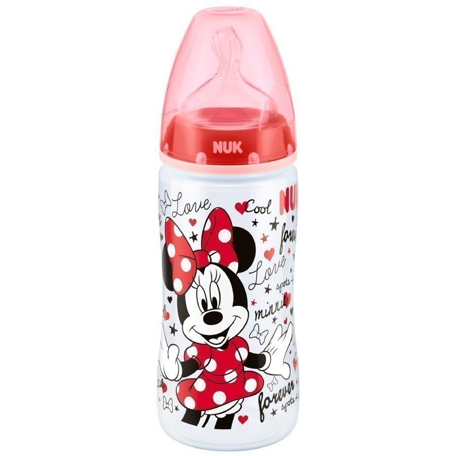 Nuk First Choice Plus Tuttipullo 300 Ml Disney Minni Hiiri