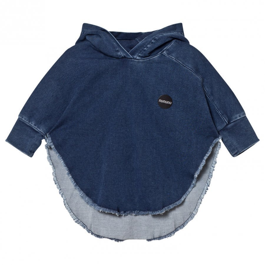 Nununu Denim Poncho Medium Viitta