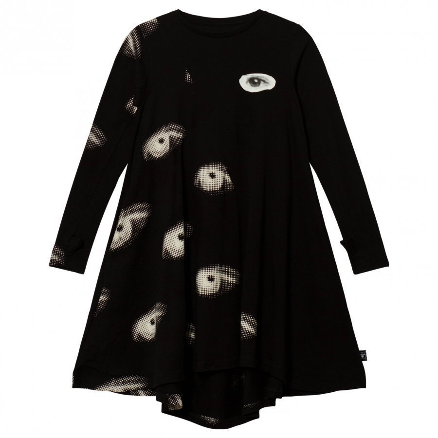 Nununu Eye 360 Dress Black Mekko
