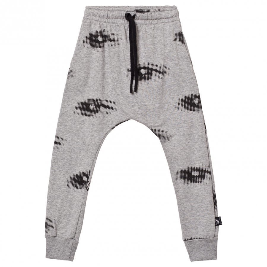 Nununu Eye Baggy Pants Heather Grey Verryttelyhousut