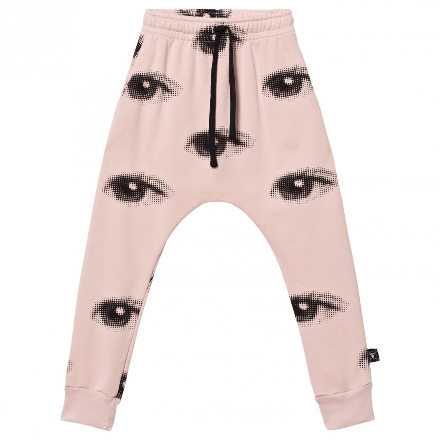 Nununu Eye Baggy Pants Powder Pink Verryttelyhousut