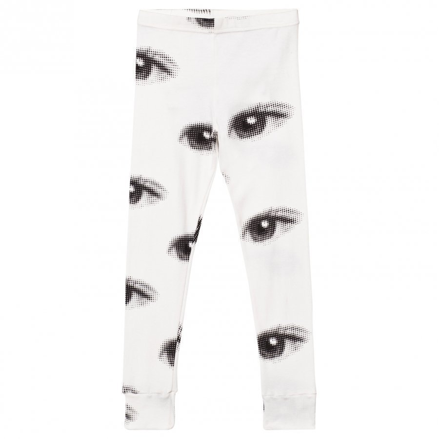Nununu Eye Leggings White Legginsit