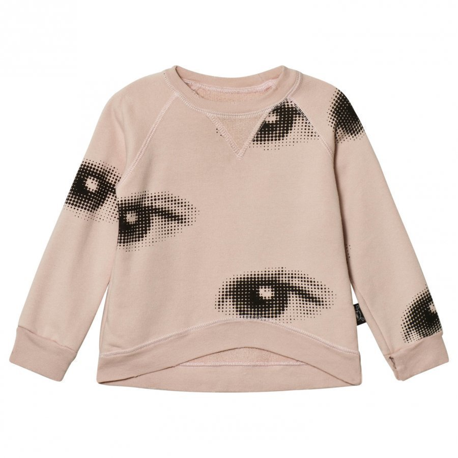 Nununu Eye Sweatshirt Powder Pink Oloasun Paita