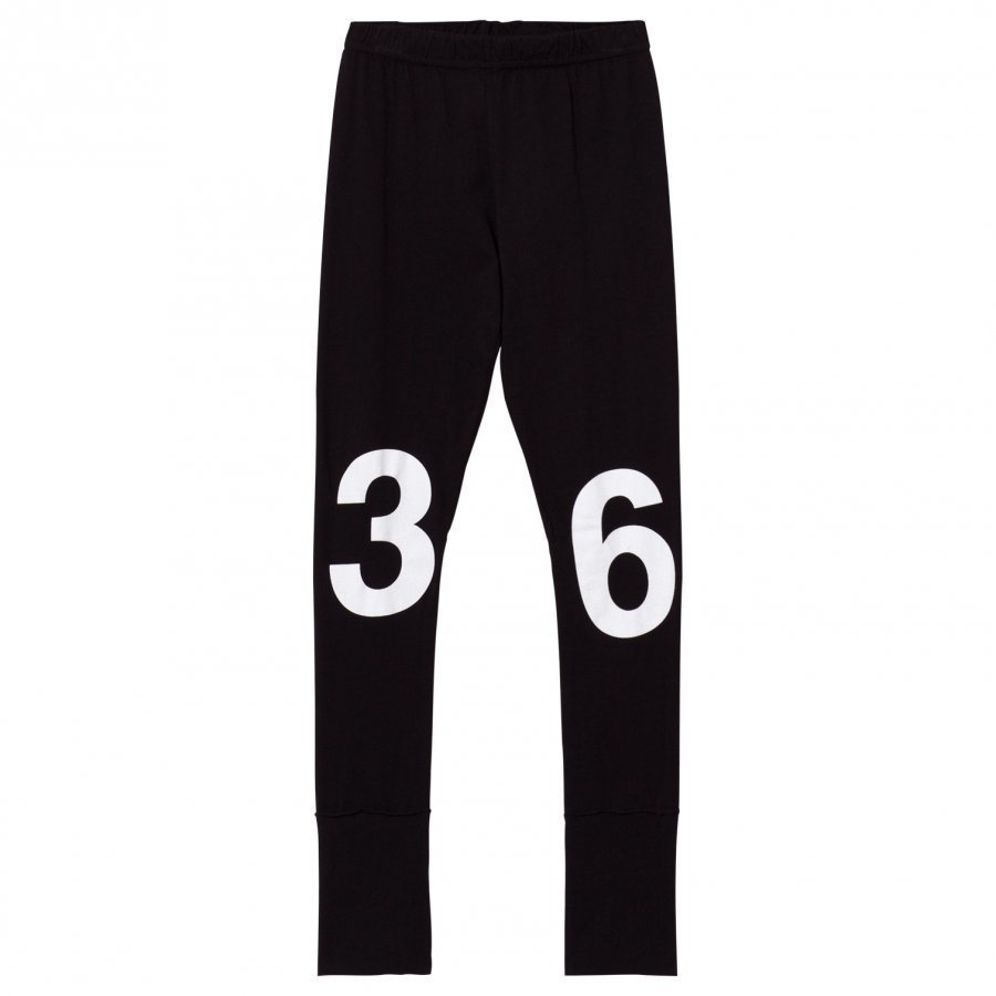 Nununu Numbered Leggings Black Legginsit