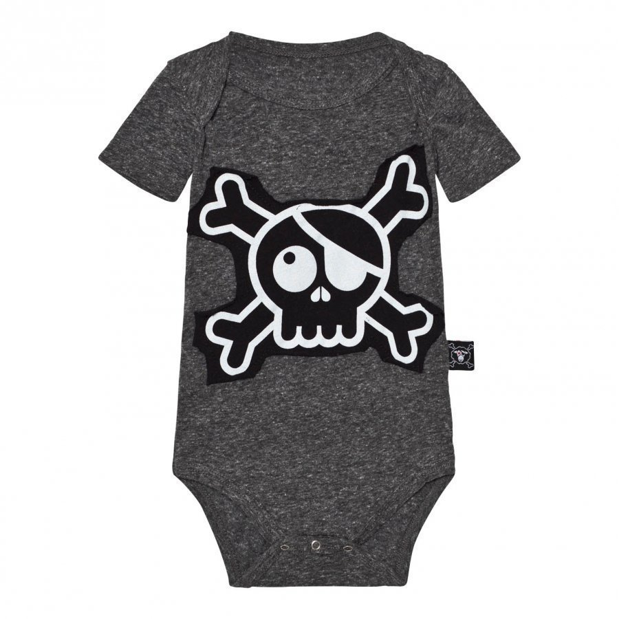 Nununu Skull Patch Body Charcoal Body