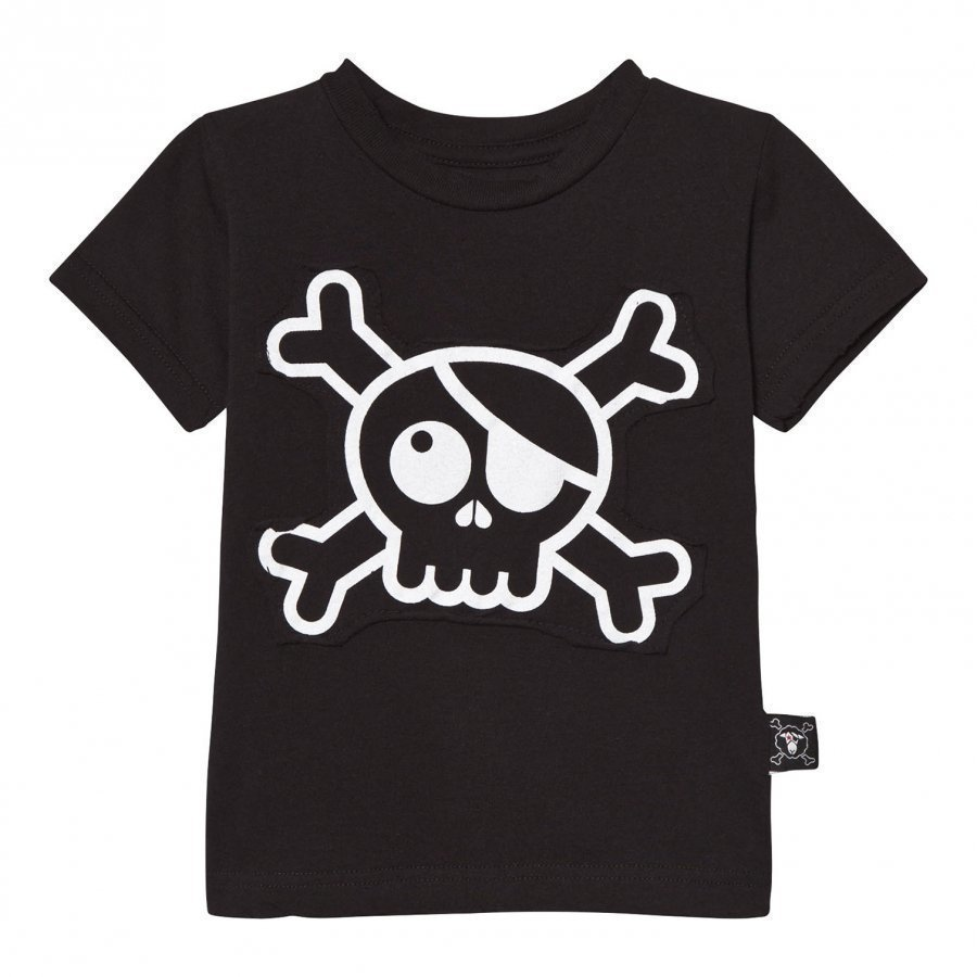 Nununu Skull Patch T-Shirt Black T-Paita