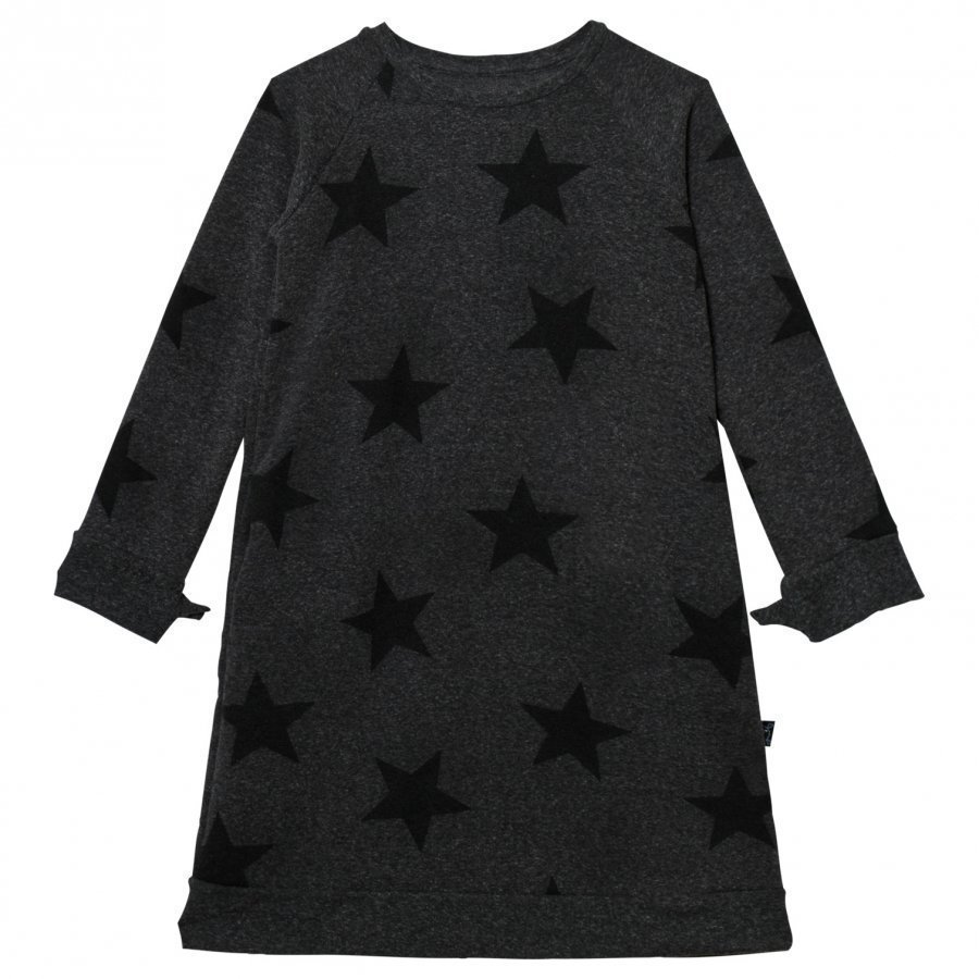 Nununu Star A Dress Charcoal Mekko