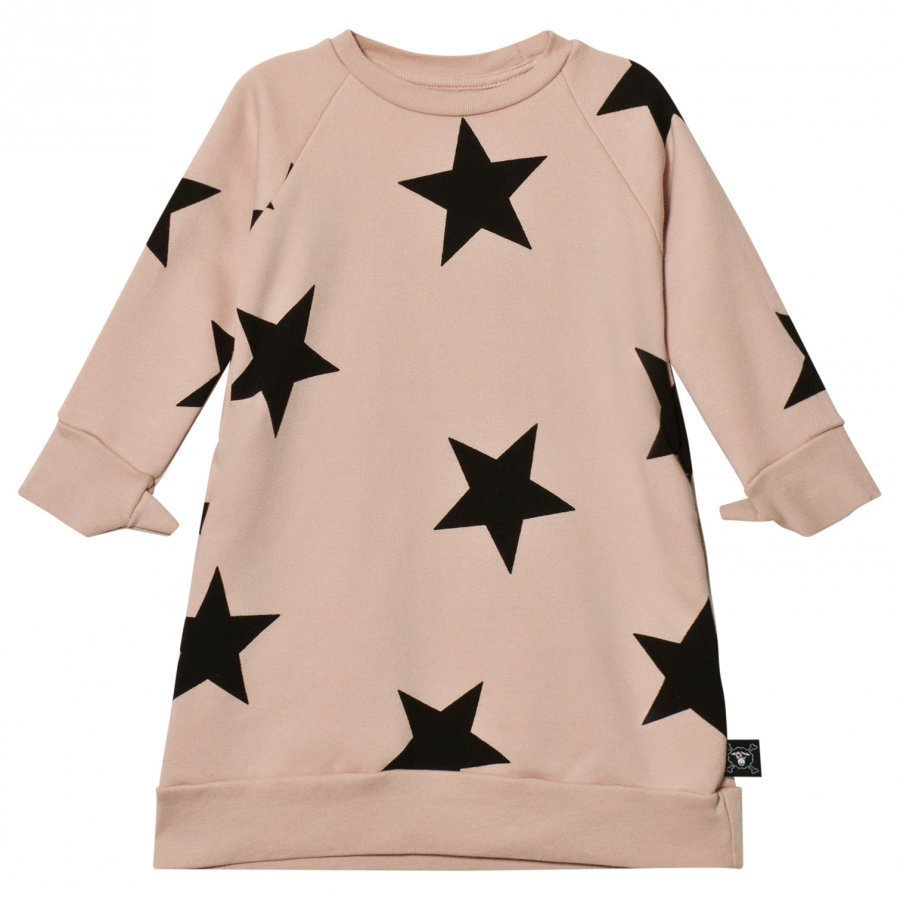 Nununu Star A Dress Powder Pink Mekko