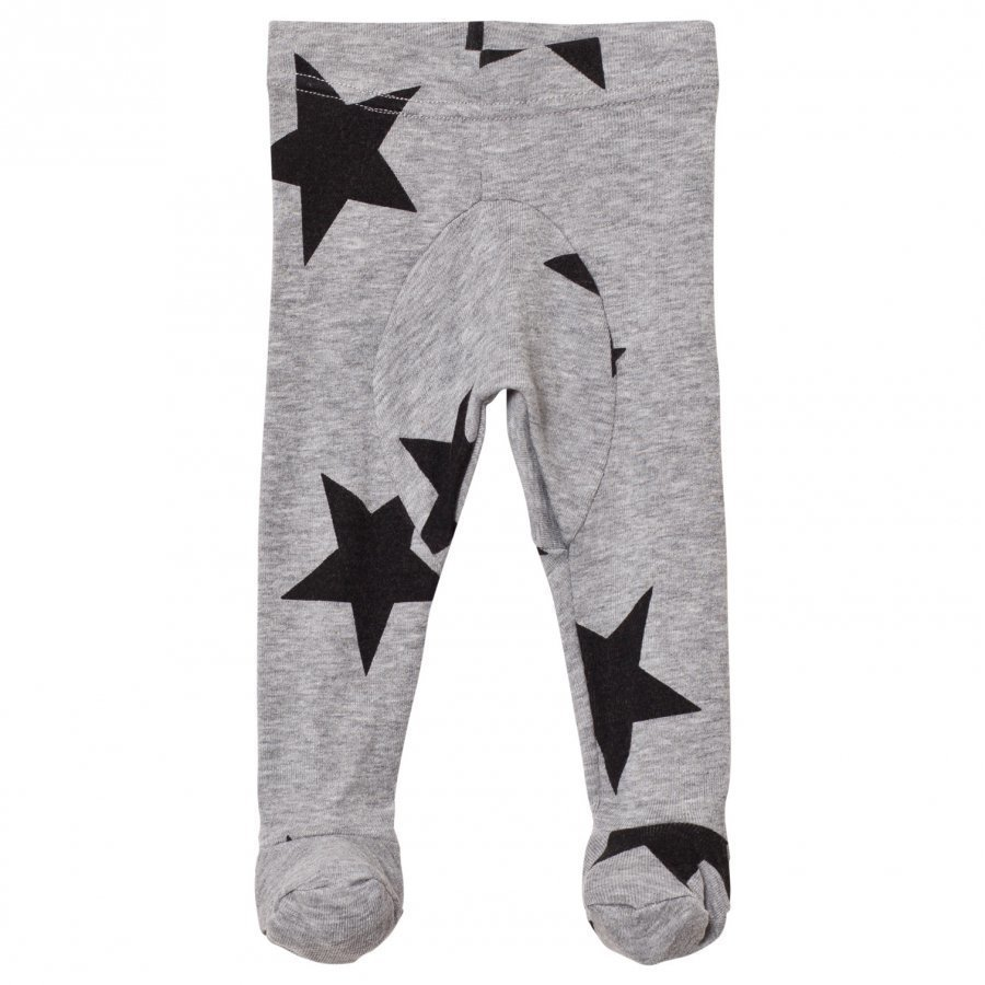 Nununu Star Baggy Footed Leggings Grey Heather Legginsit