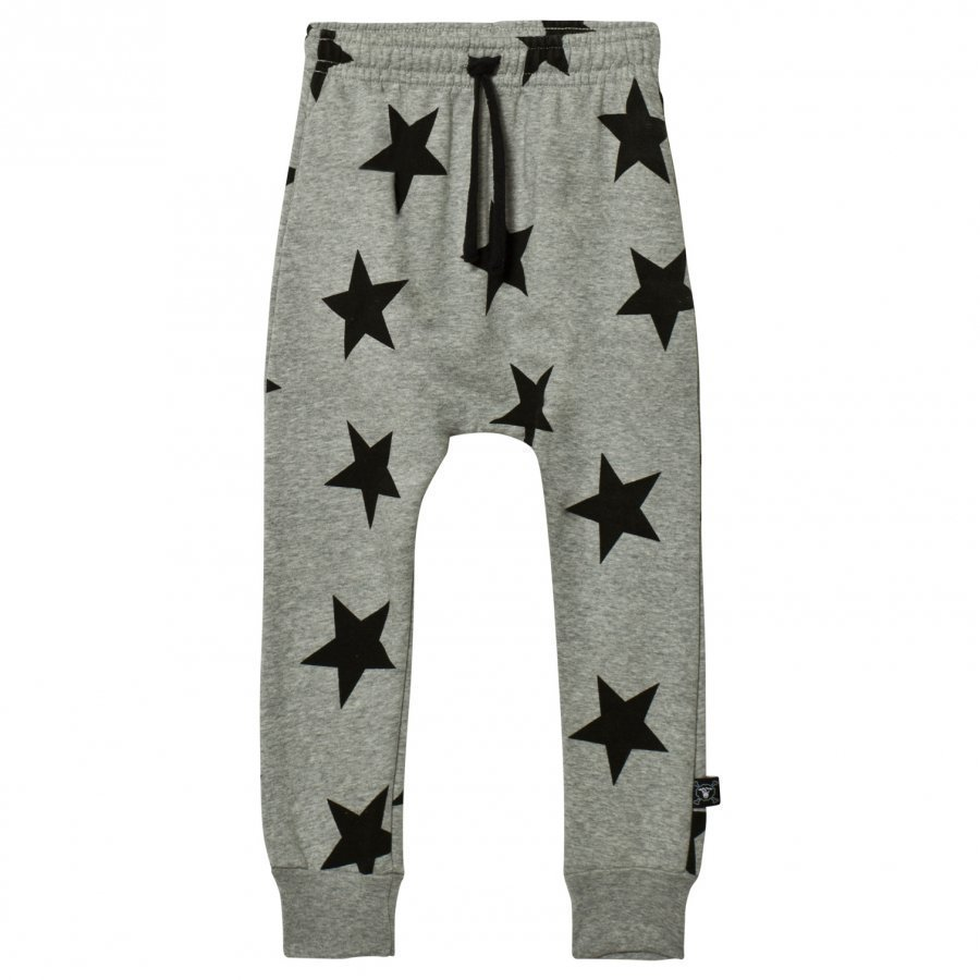 Nununu Star Baggy Pants Heather Grey Verryttelyhousut