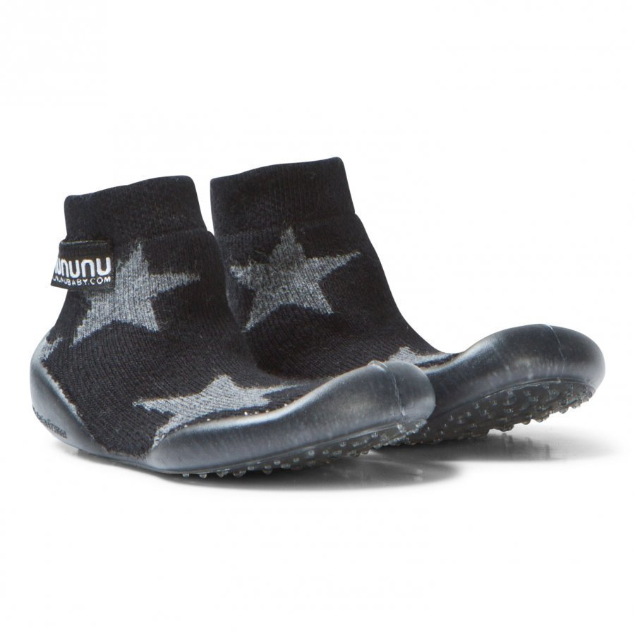 Nununu Star Collegien Slippers Black Vauvan Kengät