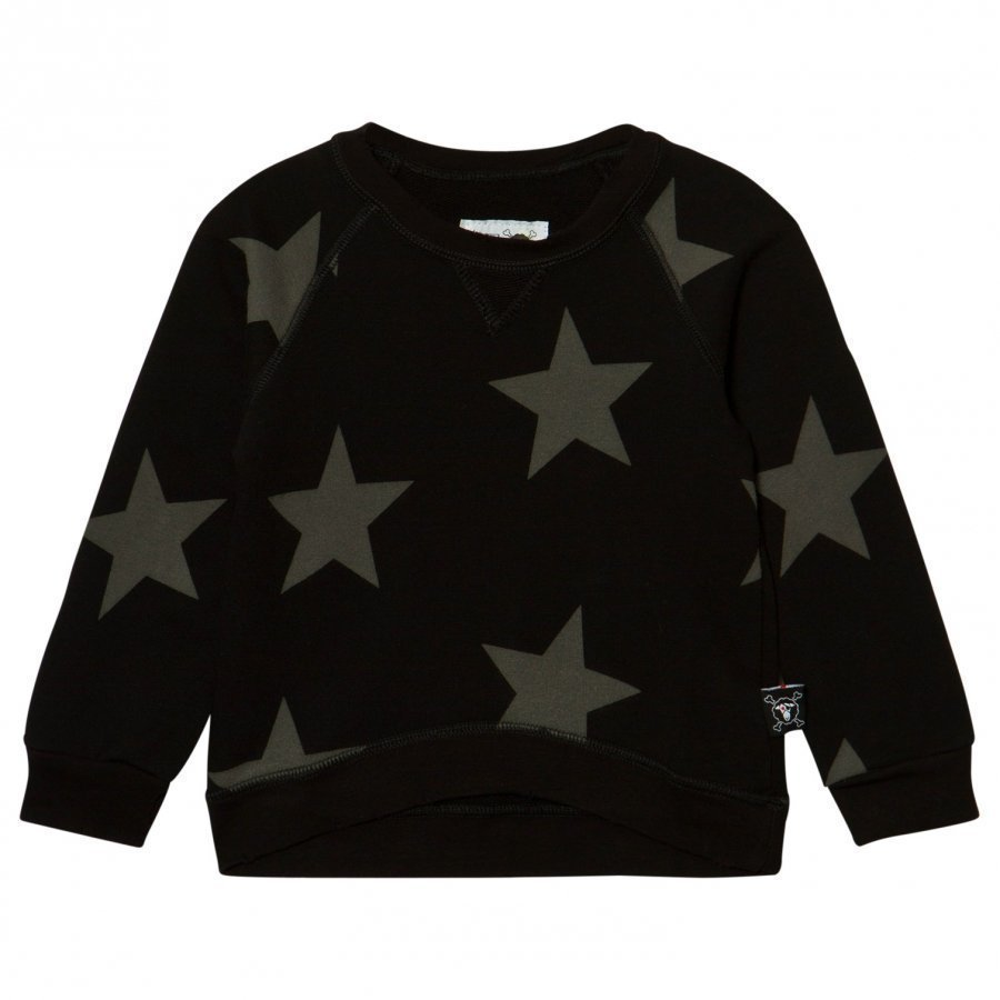 Nununu Star Sweatshirt Black Oloasun Paita