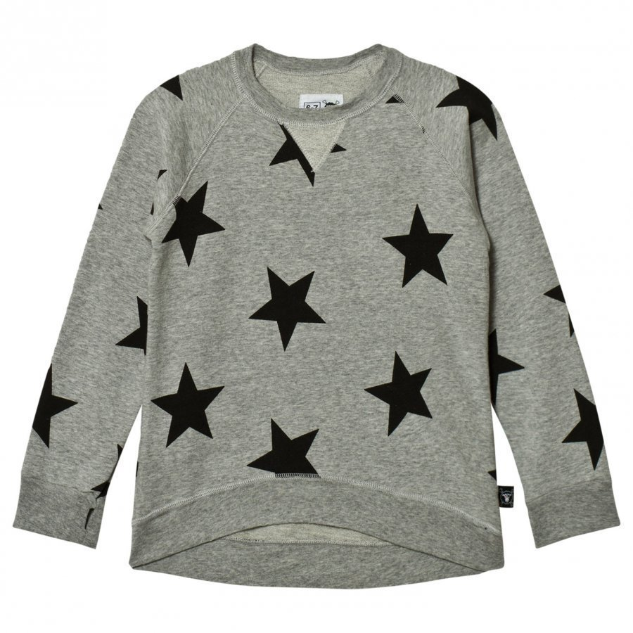 Nununu Star Sweatshirt Heather Grey Oloasun Paita
