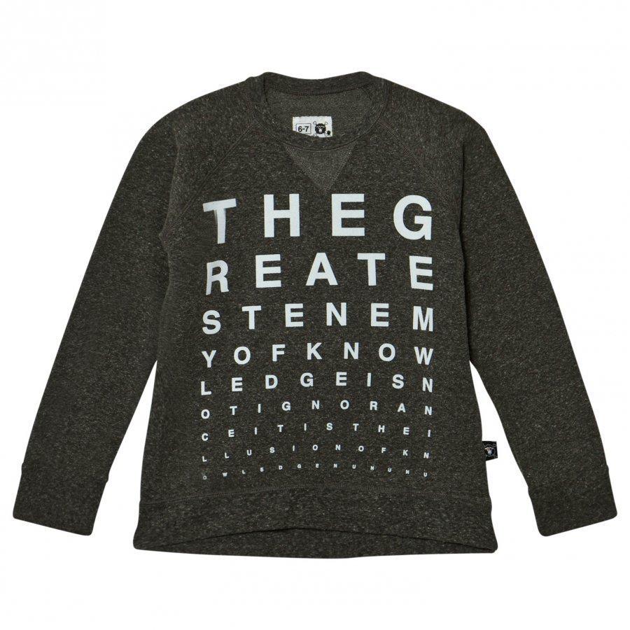Nununu Vision Test Sweatshirt Charcoal Oloasun Paita