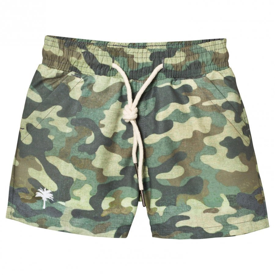 Oas Kid's Cammo Swim Trunks Uimahousut